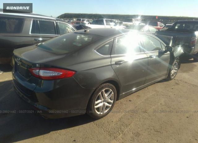 Lot #1776429267 2015 FORD FUSION SE salvage car
